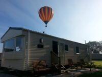 Luxury 6 berth caravan at flamingo land Yorkshire £100 deposit secures your stay