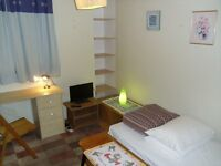 Single room-Une chambre a louer-Camera Singola- Se alquila habitacion individual