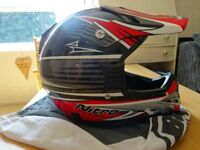 Nitro Racing Motocross helmet