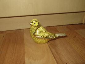 Royal Crown Derby Canary, Crown Derby Canary bird