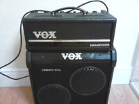 VOX VT 20 GUITAR AMP AND CAB