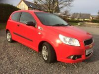 CHEVROLET AVEO 1.2 S LOW MILEAGE 47K SERVICE HISTORY LONG MOT 1 PREVIOUS OWNER LOW INSURANCE