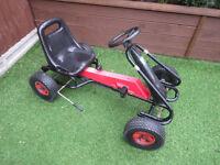 Kids Childrens Kettler Ride On Go Kart - USED.