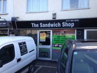 Sandwich Shop For Sale, Hanham, Bristol