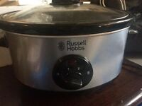 Russel Hobbs Stainless Steel Silver 3.5L Slow Cooker
