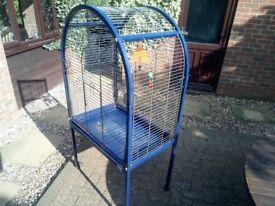 Bird cage used.