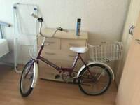 Folding bike in brilliant working order
