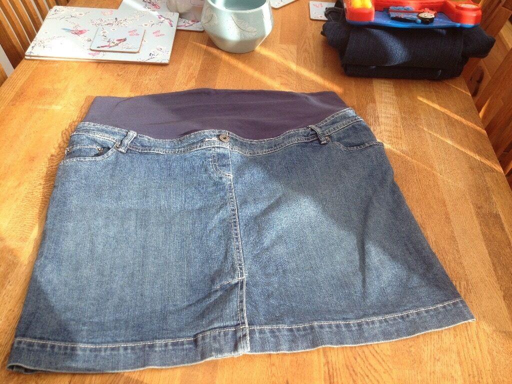 Women's vertbaudet maternity skirt size 18