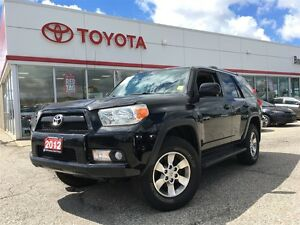 2012 Toyota 4Runner SR5 V6, Local Trade In, Carproof Clean, Leat