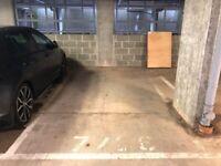 Secure parking space near Western General Hospital