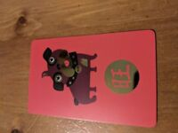 £120 Selfridge card - swap with other card retailer.