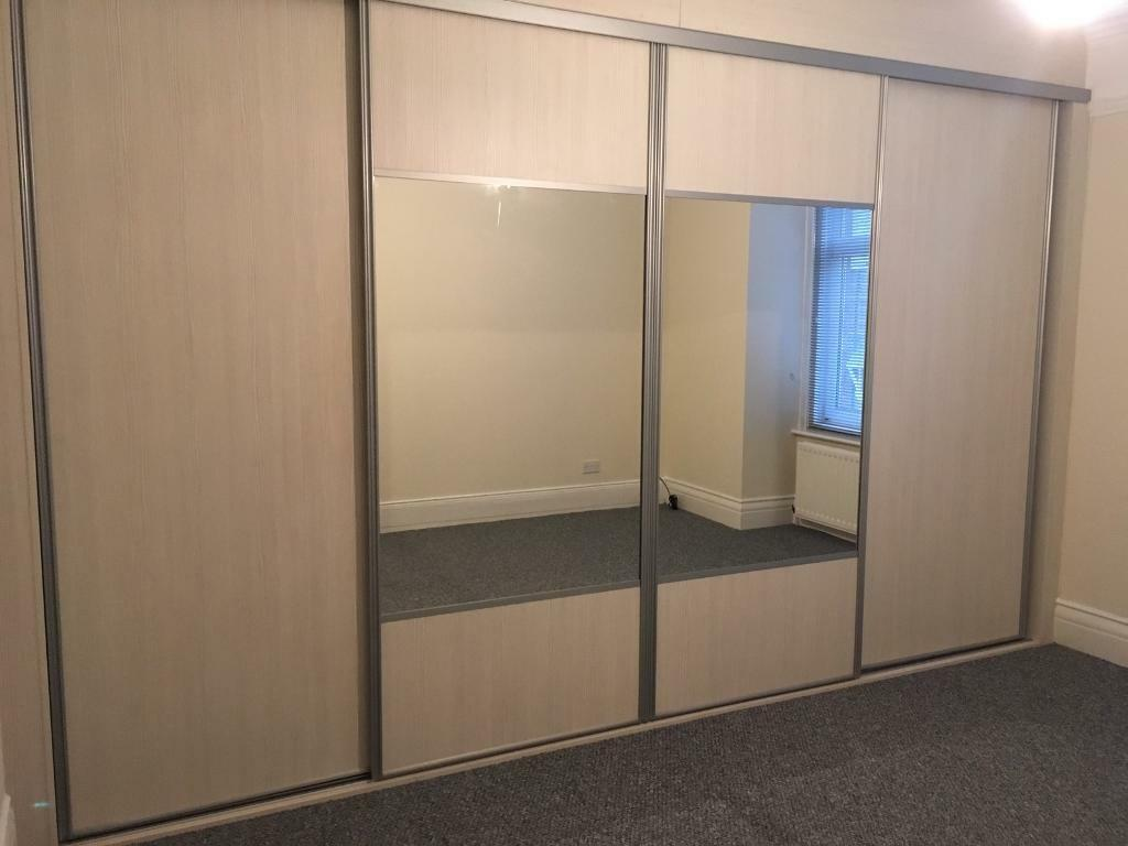 Fitted wardrobes (less than a year old)
