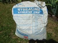 Free / 1/2 Bag Of Builders Lime