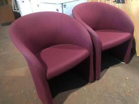 Tub Chairs - Purple
