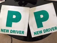 """P"" plates new driver"