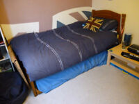 Single/Double space saver bed