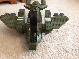 Mega Bloks Halo Pelican Dropship 96824