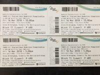 Badminton Tickets