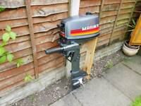 Mariner outboard engine 4 hp 2 stroke