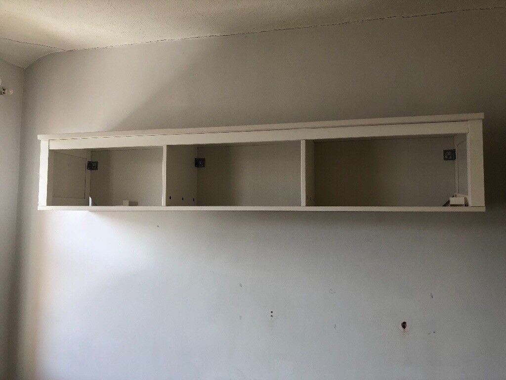 White Wall Mounted Storage Unit