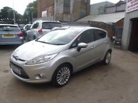 Ford FIESTA Titanium 120,5 dr hatchback,2 previous owners,2 keys,full MOT,clean tidy car,only 55,000