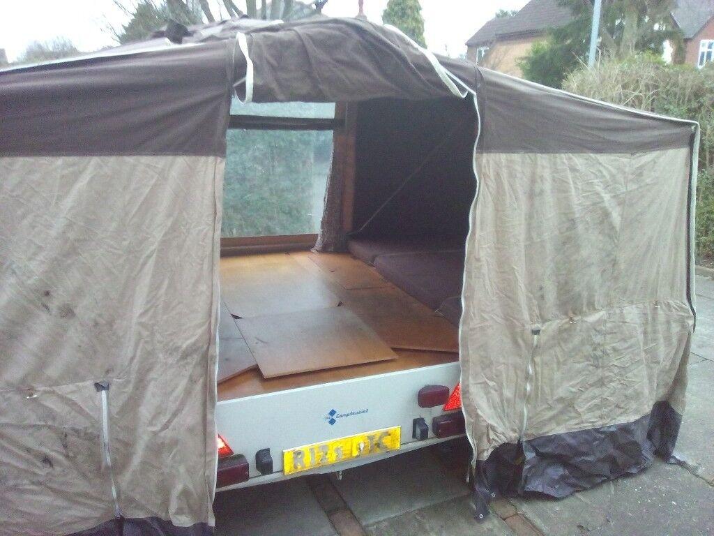 Camptourist Nova NR trailer tent