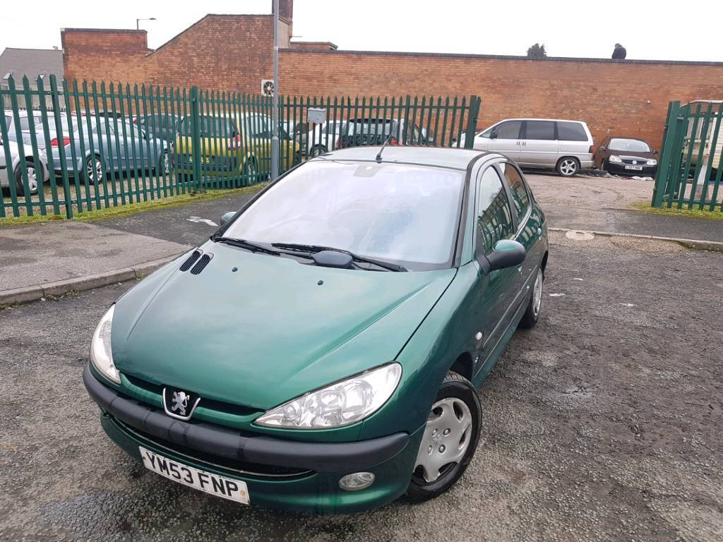 PEUGEOT 206 1.4ltr HDI (DIESEL) *** MOTED- £30 ROAD TAX/YEAR ...