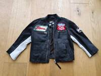 Childrens leather jacket