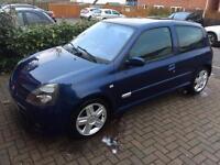 Clio 172 Monaco blue