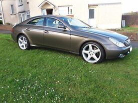 Flawless Merdeces CLS 320 CDI AMG Style with FSH & LOW MILES