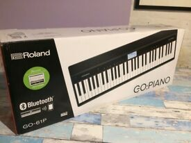 BNIB: Roland Go:Piano with full manufacturer warranty
