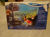 Lotus Maximus Eco 2300 Pond Pump