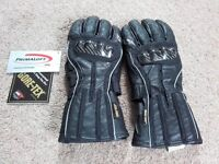 Motorcycle Gloves Alpine Stars JET ROAD GORETEX, Size Medium - NEW