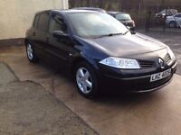 2008 renault megane 1.6 petrol,,i,,,price;£ 999 ovno px/exch