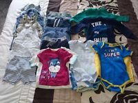 *Bandle 6-9 months baby boy clothes*