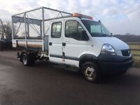 RENAULT MASCOTT TIPPER 2009 HIGH SIDE MULTI TIPPER CREW CAB TRUCK