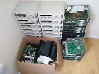 Job lot of xbox 360 spare parts