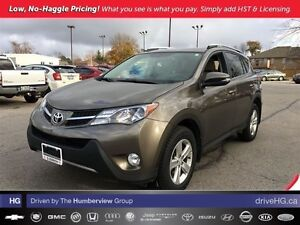 2013 Toyota RAV4 AWD XLE | ACCIDENT FREE | 1 OWNER | LOCAL |