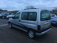 2002 Peugeot partner quicksilver combo mpvehicle only 63000 miles in superb condition air con 1yrmot