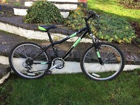 "Dawes Zombie child's bike - 24"" wheels, good condition"