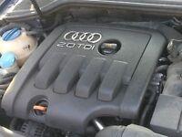 Audi A3 2.0 Tdi BKD engine cover