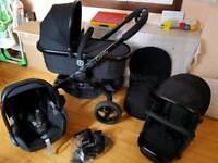 Icandy peach 3 jet2 immaculate condition pram/pushchair