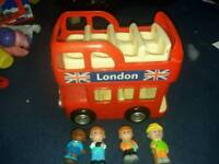 Happyland London bus
