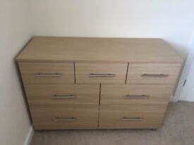 Large Chest of Drawers (light oak)