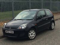 2007/07 FORD FIESTA 1.25 STYLE 3 DR HATCHBACK+HPI CLEAR+LOW MILES 89K+1 LADY OWNER+FSH+BARGAIN+CHEAP