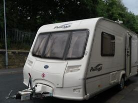 Bailey Pageant Two Berth Plus Awning Motor Mover