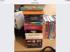 Box set of CDs job lot