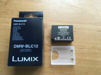 Panasonic DMW-BLC12E camera battery