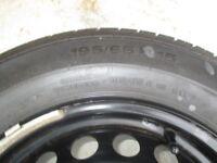 Continental Conti Premium 195/65 R15 tyre and wheel for Renault Megane - unused