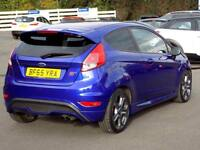 FORD FIESTA 1.6 ST-2 3dr 180 BHP *Part Leather Recaro Heated S (blue) 2015